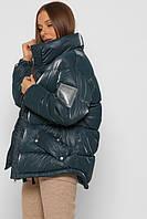 Женский модный пуховик размер 46-48. Зимняя куртка X-Woyz LS-8874-30