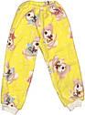 Детская тёплая пижама рост 104 3-4 года махровая жёлтая на мальчика девочку для детей Ж841, фото 3