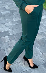 Штани з креп-дайвінгу жіночі