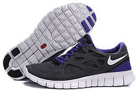 Кроссовки беговые женские Nike free run plus 2  кроссовки найк женские фри ран
