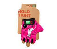Перчатки Green Cycle NC-2340-2014 Kids без пальцев L розовые