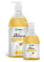 Жидкое крем-мыло Milana «Молоко и мед» 1 л. с дозатором 126101