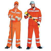 Сигнальные костюмы дорожников