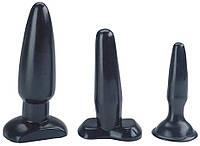 Набор плагов SEXY SWEET BUTT PLUGS SET OF 3 BLACK