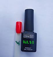 №1, Гель-лак для ногтей KI.VI, 7мл, Америка, гель лак, киви, KIVI, киви, ківі, плотный гель-лак, гель-лак LPC