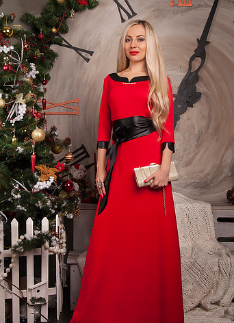 Платье длинное в пол большой размер, фото 2
