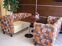 Диван для кафе, бара, ресторана, фастфуда, пицерии, кофейни —Тунис, фото 1