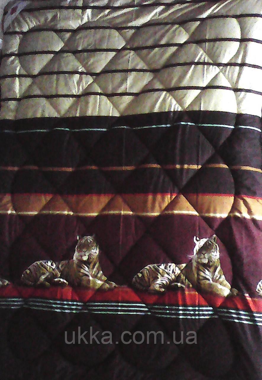 Полуторное шерстяное одеяло Примьер сатин Теп