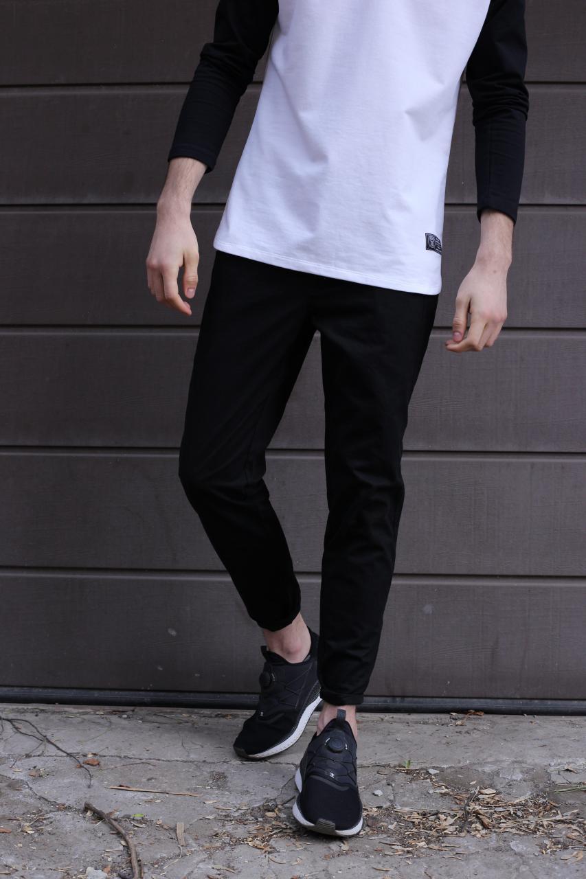 Штани чоловічі чорні від бренду ТУР модель Едді (Eddie) розмір S,M,L