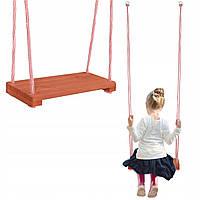 Качели подвесные детские 42x18 см Springos HS02 для сада, террасы, балкона и даже дома, квартиры