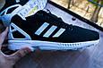 Мужские кроссовки Adidas ZX FLUX black/white