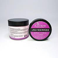 Акриловая пудра EzFlow 60 гр прозрачная розовая