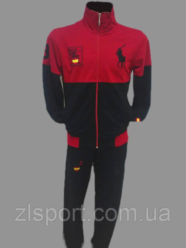 2ecc9fdc58fe Спортивный костюм мужской трикотажный Турция Clima365 Polo купить по ...