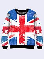 Женский  Свитшот Флаг Великобритании