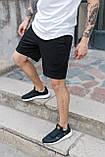 Спортивні чоловічі шорти чорного кольору бренд ТУР модель Сем (SAM) розмір S, M, L, XL,, фото 3