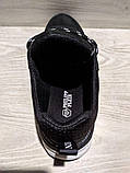 Кеди шкіряні чоловічі чорні Armani розмір 40, 41, 42, 43, 44, 45, фото 7