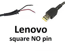 Кабель для блока питания ноутбука Lenovo Square NO pin (до 3.5a) (T-type) for Tablet 10