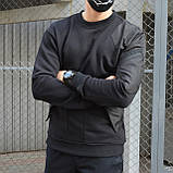 Свитшот мужской черный от бренда ТУР Такеда (Takeda) размер S, M, L, XL, XXL, фото 3