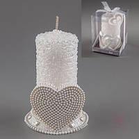 """Свадебная свеча  """"Сердце"""""""