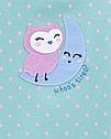 Детская пижама Carter's Совушки для девочки/ 1 комплект 5Т/105-112 см, фото 2