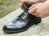 Туфлі чоловічі шкіряні Броги розмір 40-45, фото 2