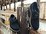 Туфли броги мужские черные замшевые Оникс (Onyx) от бренда Legessy размер 40, 41, 42, 43, 44, 45, фото 8
