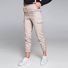 Штани жіночі карго бежеві бренд ТУР модель Cassie (Кессі) XL