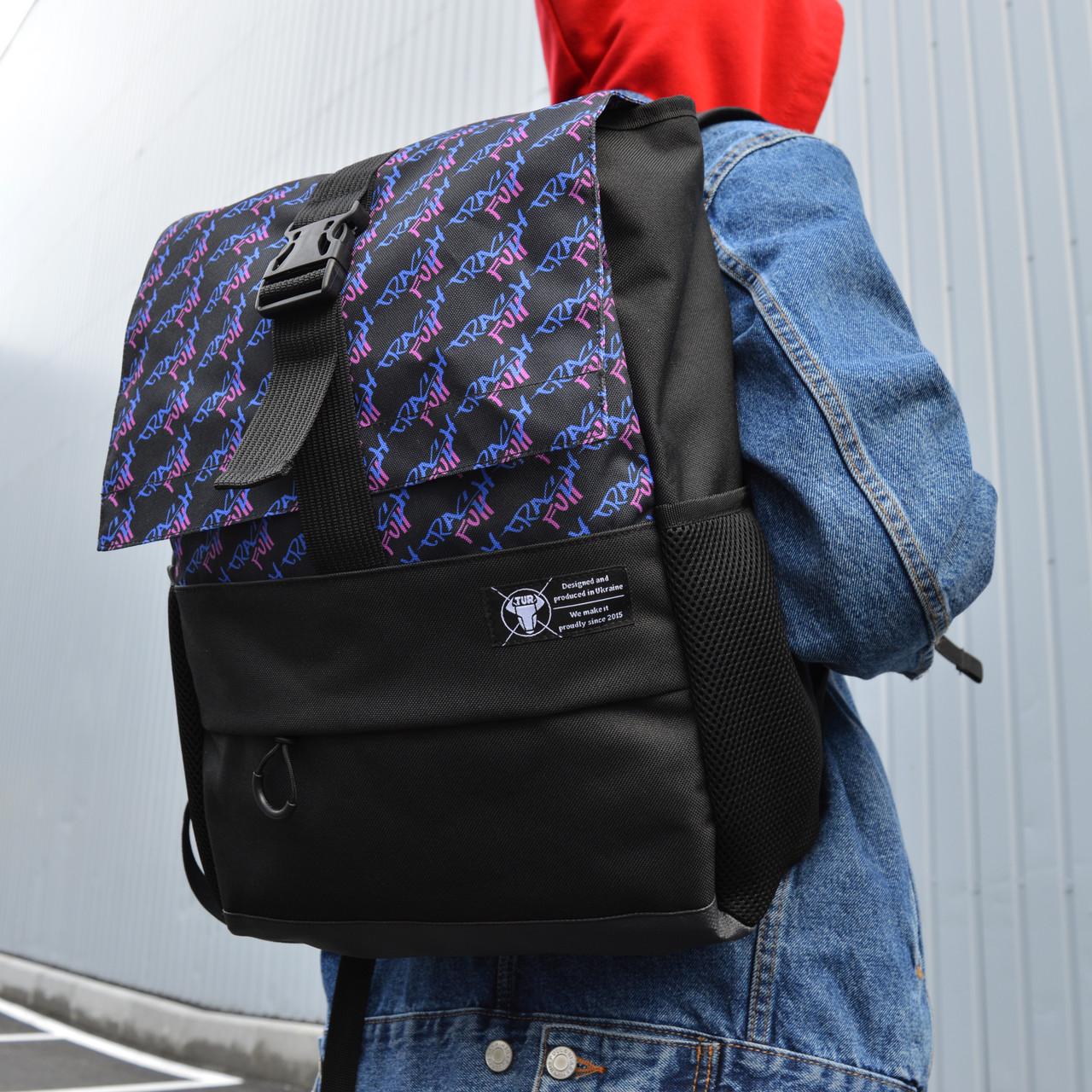 Рюкзак с принтом  бренд ТУР модель Piligrim