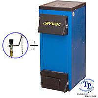 Котел с плитой на дровах и угле Spark (Спарк) - 18П (M). Энергонезависимый котел!