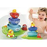 Водопад для ванной D 40115, Игрушка для ванной, Игрушка для купания Фонтан, фото 3