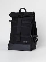 Рюкзак роллтоп колір чорний бренд ТУР модель Akuma (Акума)