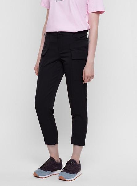 Карго штаны женские черные от бренда ТУР модель Китана (Kitana) размер S, M,L,XL