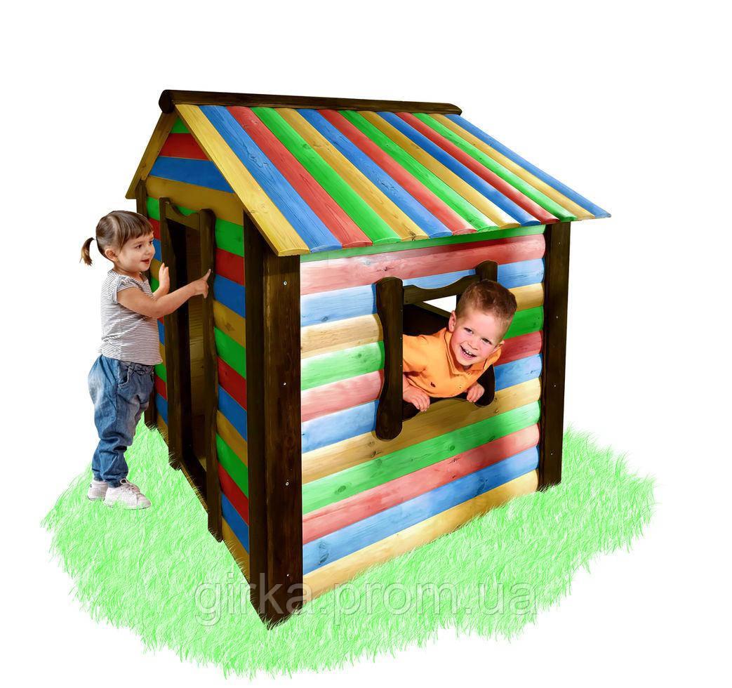 Детский домик  - цветной