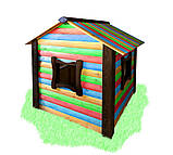 Детский домик  - цветной, фото 2