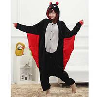 Пижама Костюм Кигуруми Летучая мышь S, M, L, XL