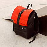 Рюкзак чорного кольору бренд ТУР модель Piligrim, фото 2