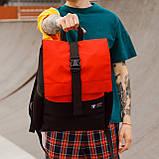 Рюкзак чорного кольору бренд ТУР модель Piligrim, фото 3