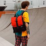 Рюкзак чорного кольору бренд ТУР модель Piligrim, фото 4