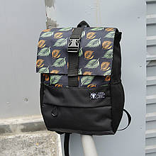 Рюкзак з принтом бренд ТУР модель Piligrim