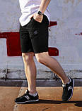 Шорти чоловічі чорні бренд ТУР модель Чироки (Cherokee) розмір S, M, L, XL, XXL, фото 4