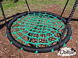 Качели Гнездо Аиста зеленые 100 см, фото 2