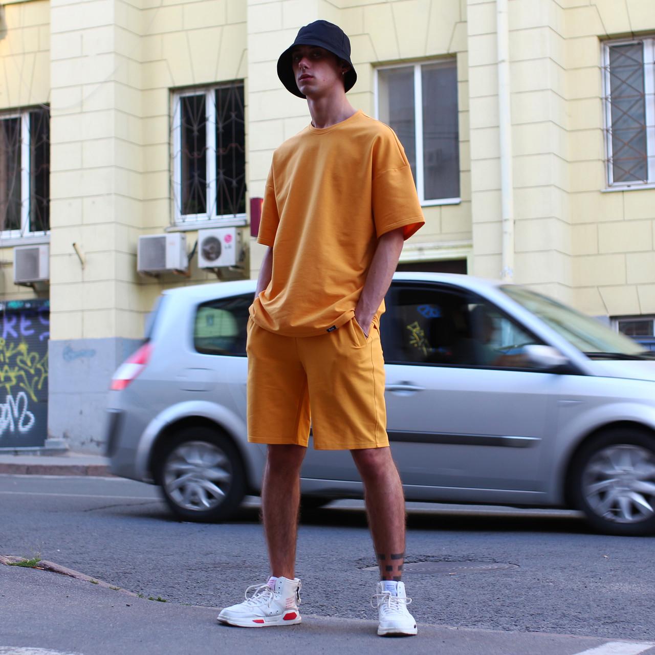 Шорти чоловічі помаранчеві бренд ТУР модель Duncan (Дункан) розмір S, M, L, XL
