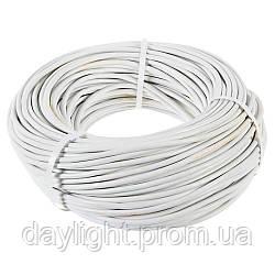 Кабель ПВС 2х1 100м Слобожанский кабельный завод
