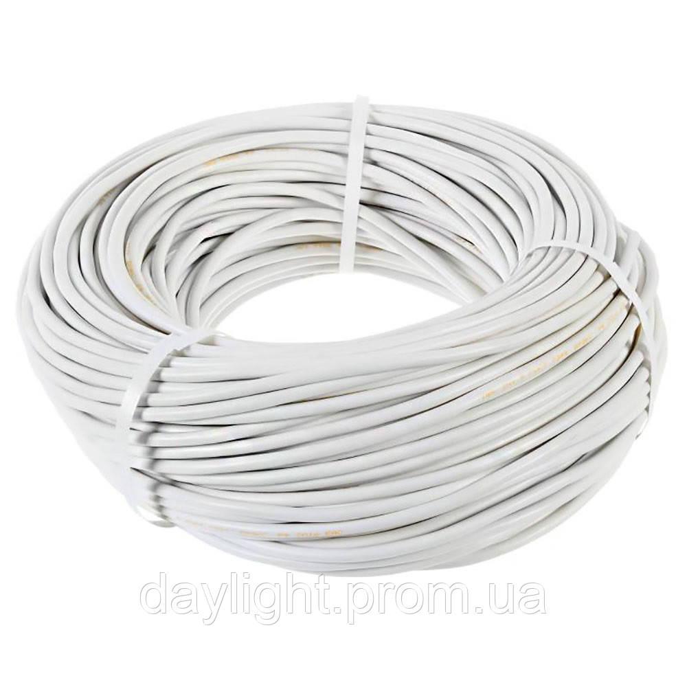 Кабель ПВС 2х6 100м Слобожанский кабельный завод
