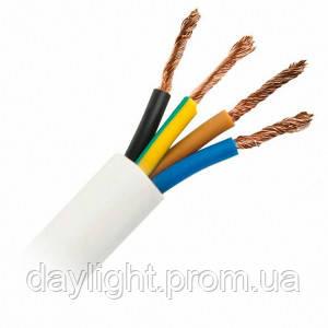 Кабель ПВС 4х6 100м Слобожанский кабельный завод