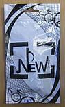 Навушники вакуумні в пакеті New High Quality (чорні з білим), фото 3