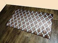 Килимок, прогумований, не ковзний Dogus розмір 80Х140 Туреччина 2100 коричневий