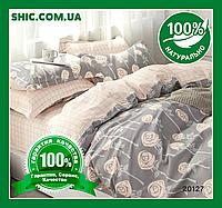 Постельное белье Вилюта (Viluta) ранфорс семейное 20127. Постель Вилюта семья. Комплекты постельного белья.