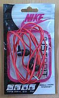 Наушники вакуумные в пакете Nike (красные), фото 1