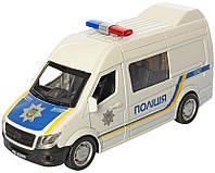 Поліцейський Мікроавтобус Іграшковий
